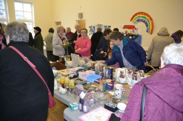 People at the Bring and Buy on 24th January 2015